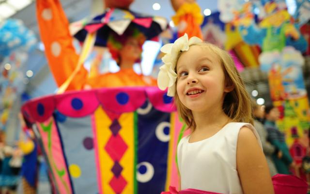 День защиты детей в Москве  2014