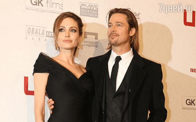 Анджелина Джоли  делает ЭКО, чтобы родить двойню