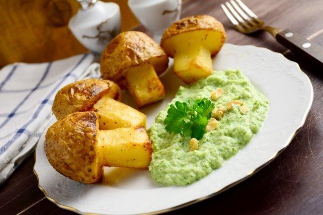 Диетическое блюдо из картофеля - пошаговый рецепт с фото