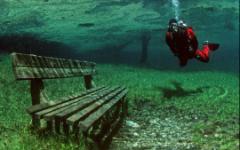 Подводный парк Зеленого озера