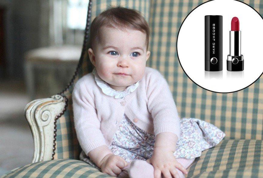 В честь принцессы Шарлотты назвали оттенок губной помады