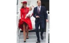 У юбки герцогини Кэтрин появился телохранитель