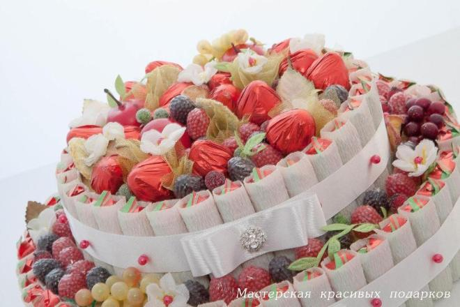 Автор: ksanka, Фотозал: Мое хобби, 'Ягодный торт''