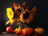 Осенний натюрморт http://eva.ru/eva-life/contest/contest-result.xhtml?contestId=1891  Автор: Pumpkin http://eva.ru/passport/8273.htm