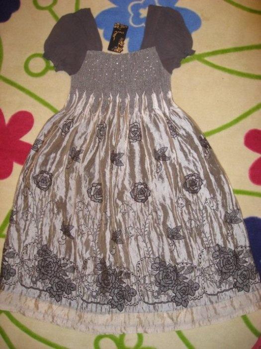 Нарядное платье р.46-48 на груди резинка пойдет и для беременных