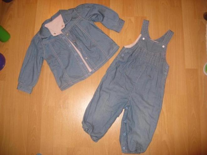 Новый костюм не одевали только постирала размер 86 цена 600р