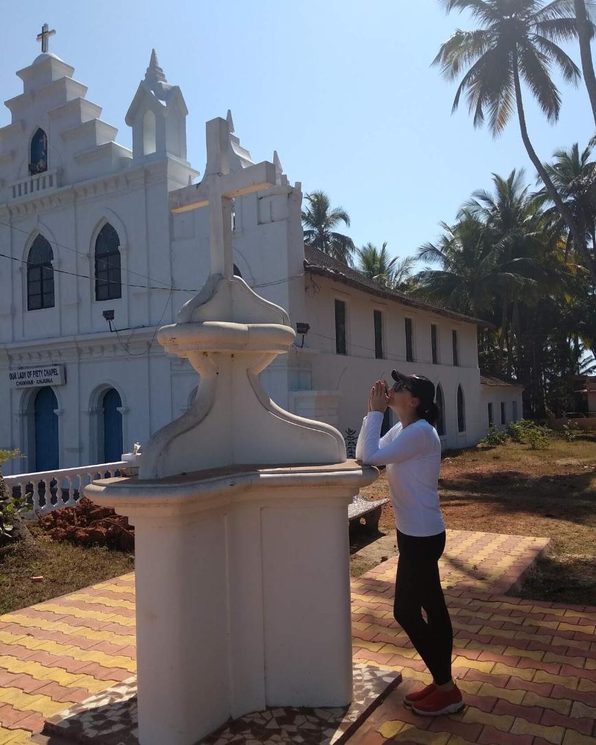 на Гоа куча Chapel, т.к. это бывшая португальская колония
