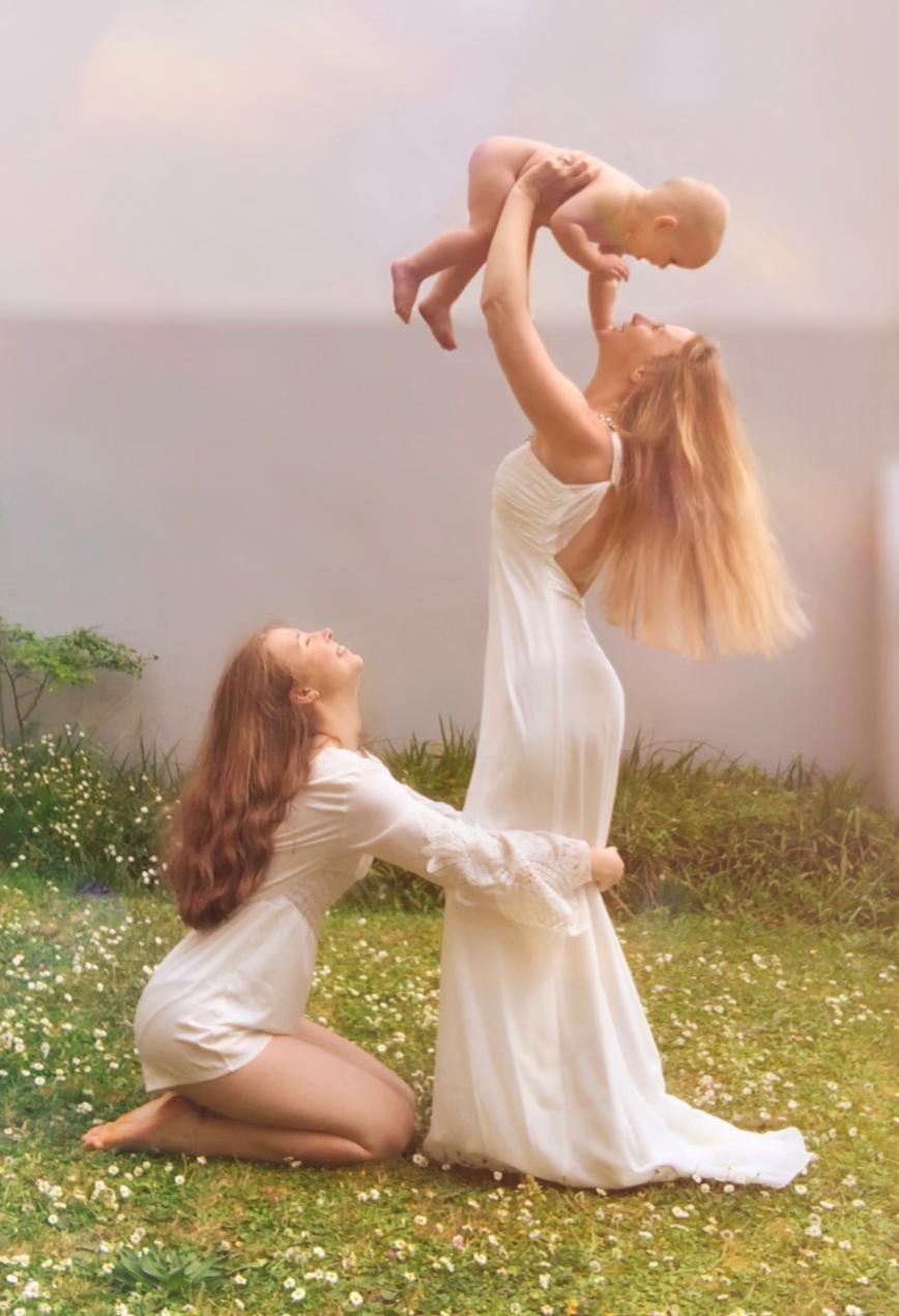 Автор: Дымкa, Фотозал: Радость материнства,