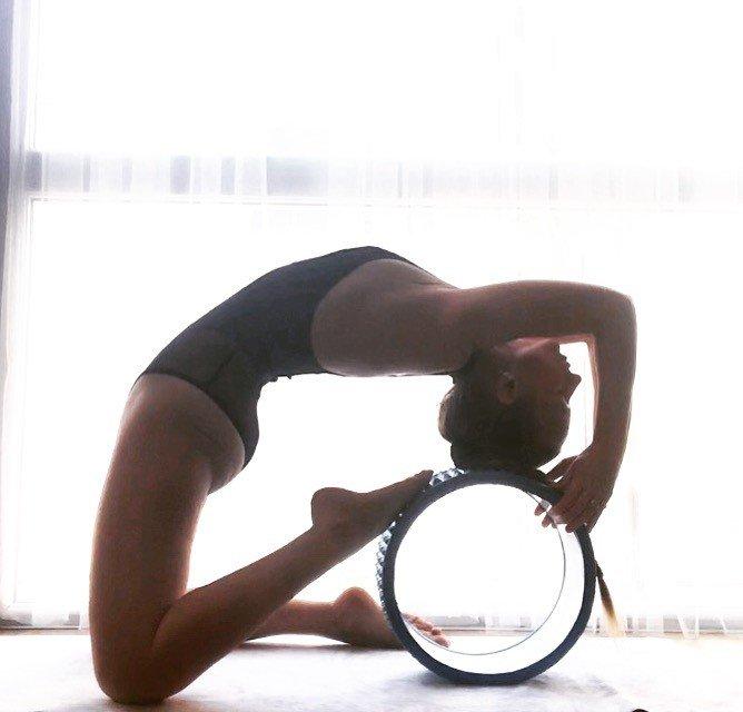 Автор: Дымкa, Фотозал: Мое хобби, С колесом тренировки веселее