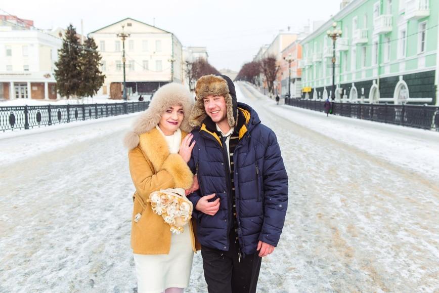 Автор: Великая Волшебница, Фотозал: Мы - пара, На улице Ленина - это как московский Арбат.