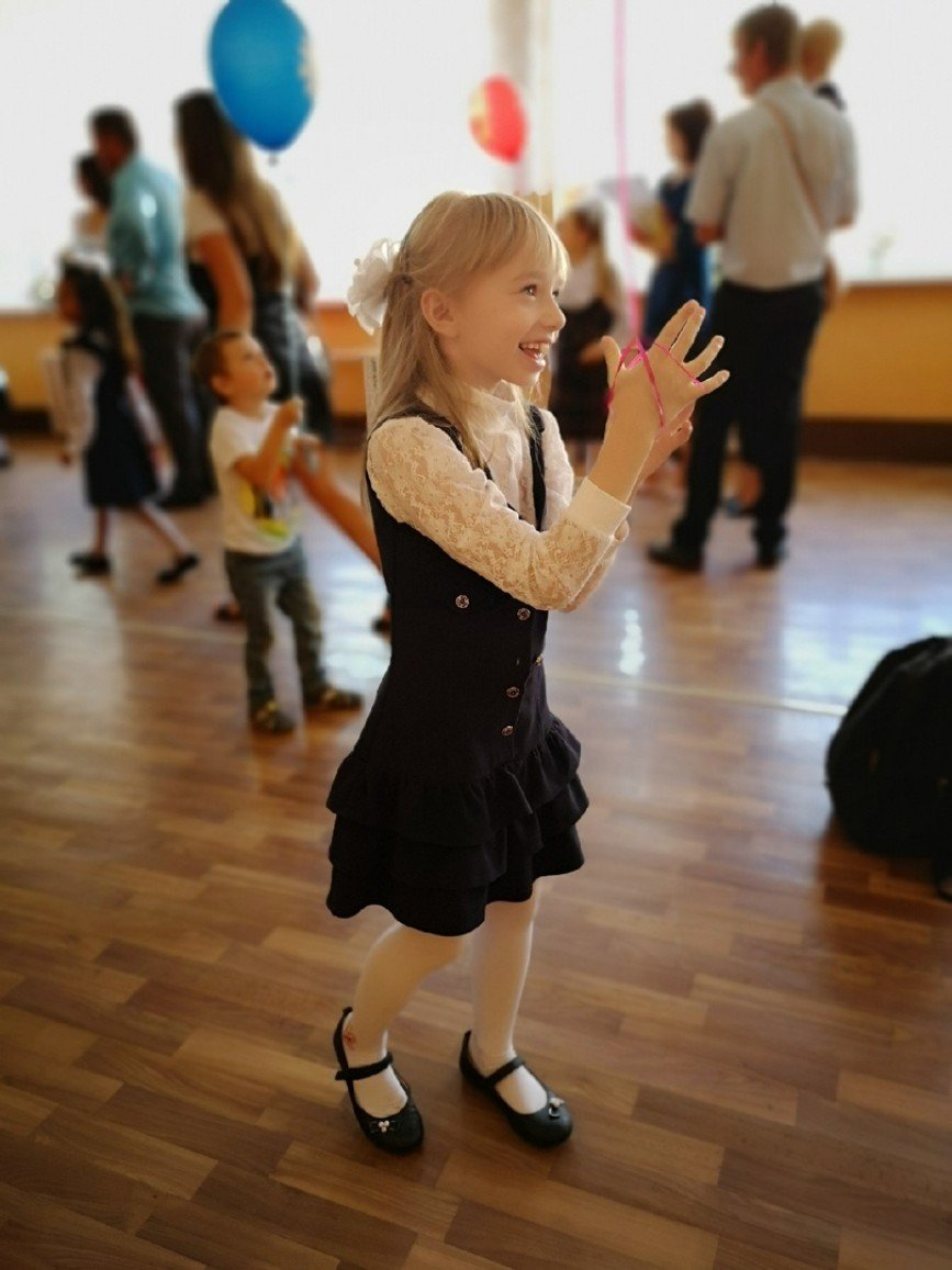 Автор: Великая Волшебница, Фотозал: Наши Дети, Кроха - первоклассница. :)))