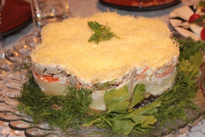 салат белая ночь рецепт с фото пошагово избавиться порчи сумасшествие