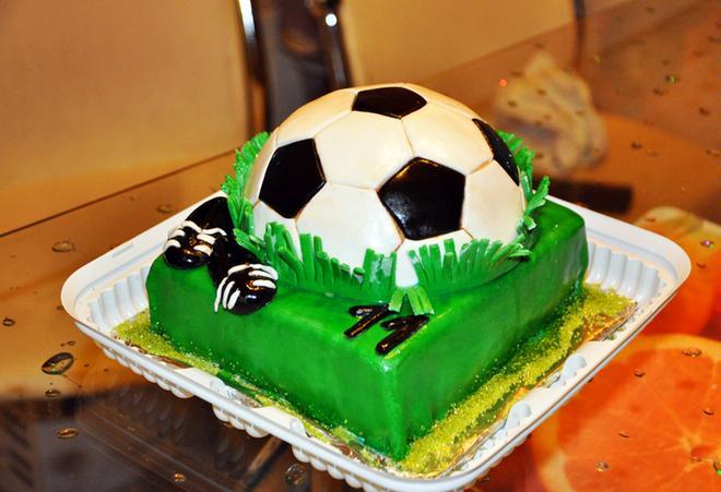 Фототорт футбол