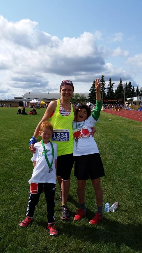 Calgary Stampede 10K and 2.5K kids