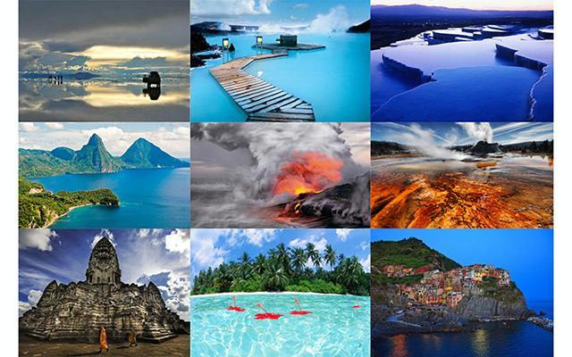 Красивейшие места мира: Все эти удивительные места будут расположены без определенного порядка, так как вряд ли можно объективно оценить, насколько одно место красивее