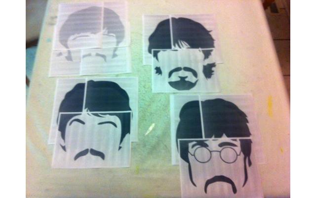 """Подушки """"Beatles"""""""