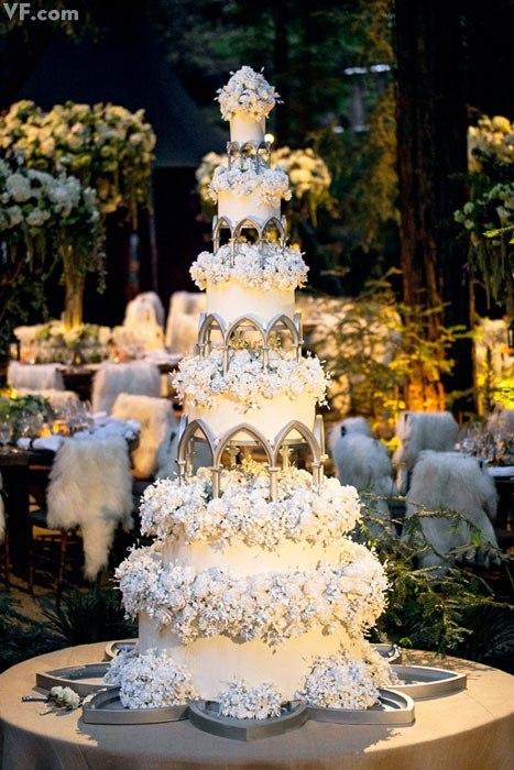 Самые дорогие свадебные торты фото