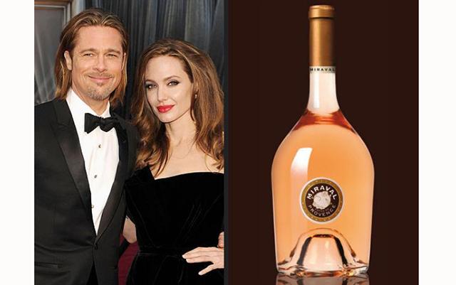 Анджелина Джоли и Брэд Питт производят лучшее розовое вино