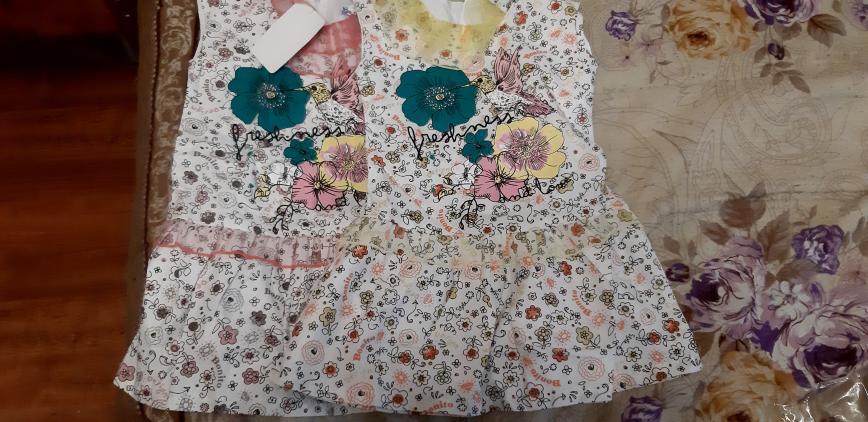 Новые с биркой платья хб, с подкладкой на рост 98-104