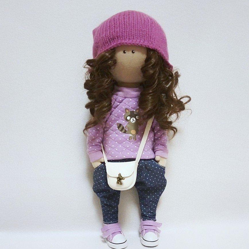 Автор: ТА-тошка, Фотозал: Мое хобби, Текстильная куколка,рост 32см.Продается,Цена 2500р