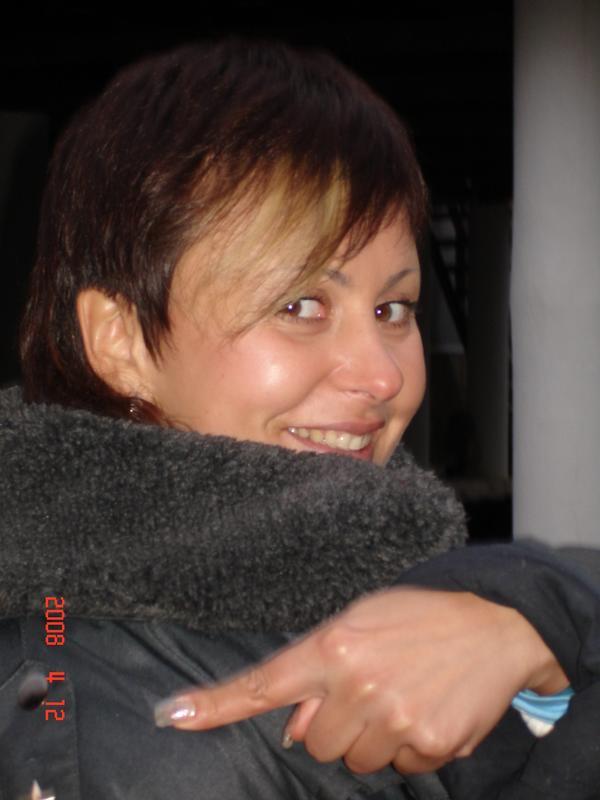 Щеголяю в майорском бушлате)) апрель 2008г