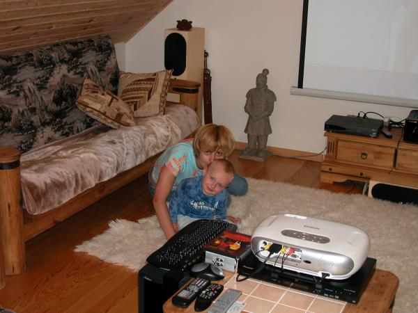 Редкая фота с мамой Канаково август 2005