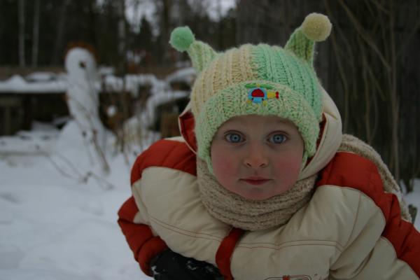 На даче январь 2006