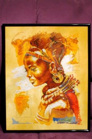 Африканка от Ланарте. Моя самая любимая. Шилась легко, но долго.