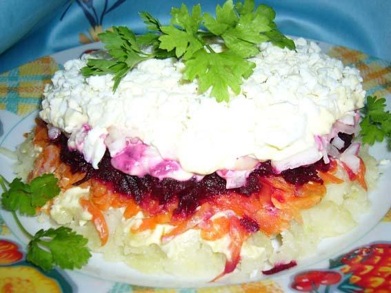 [b]Овощной торт[/b]. Рецепт с Евы, от Лесная Быль.