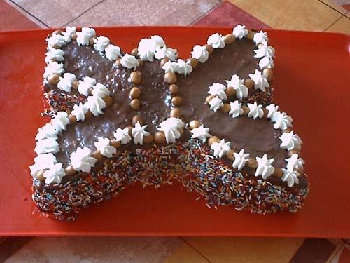 Выкройка собачки для торта