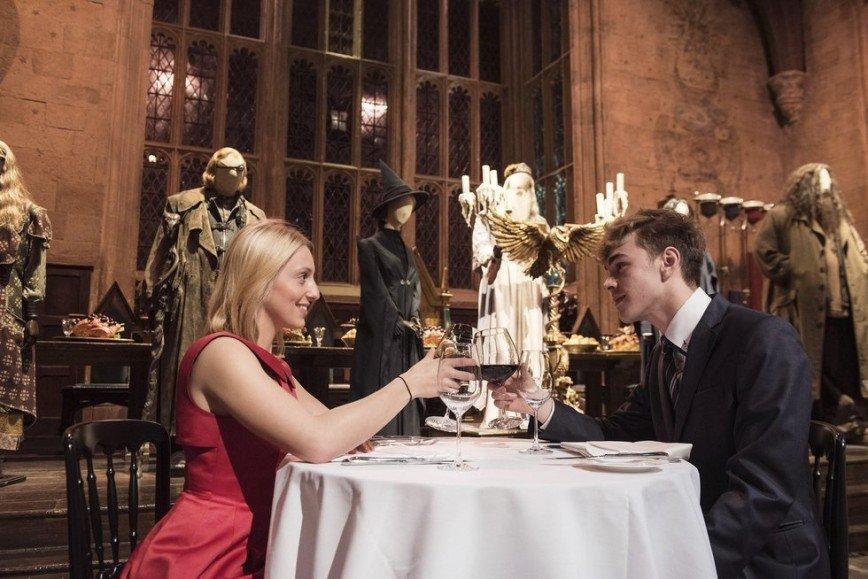 Романтический ужин в Хогвартсе на День всех влюбленных