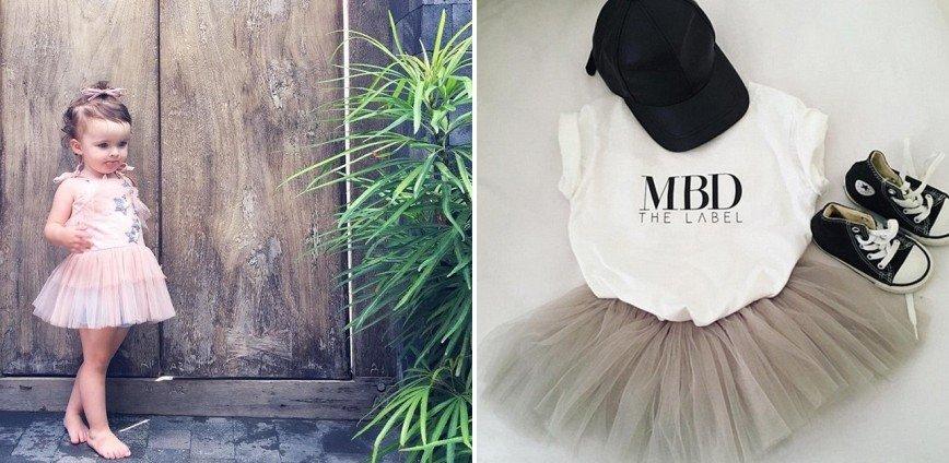 Двухлетняя девочка займется выпуском модной одежды