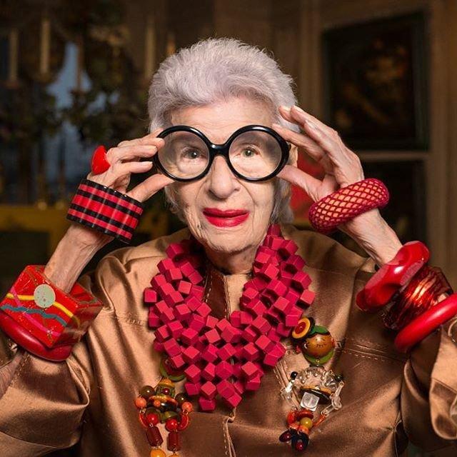 Айрис Апфель создает собственную коллекцию одежды