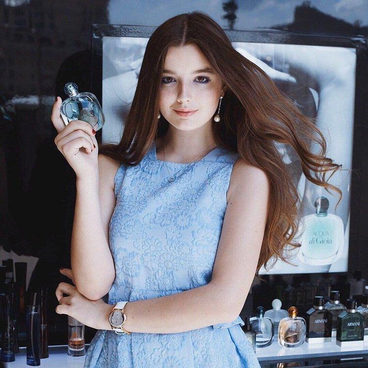 Саша Стриженова дебютировала в качестве модели