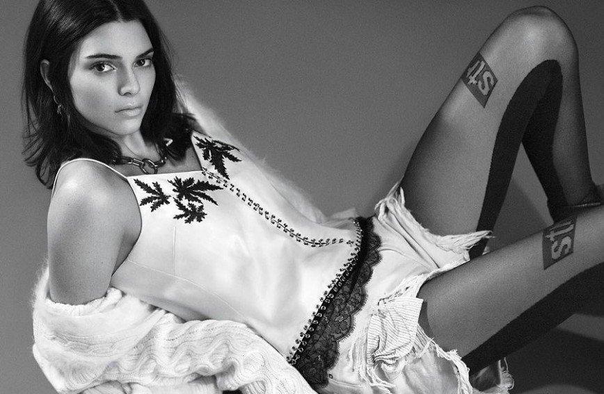 Кендалл Дженнер в американском Vogue