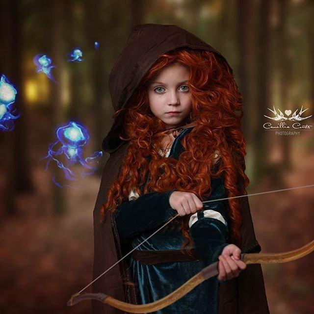 Мама-фотограф создала для дочки волшебный мир