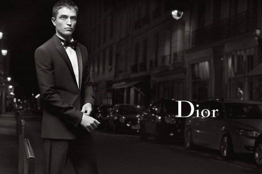 Роберт Паттинсон в рекламной кампании Dior Homme