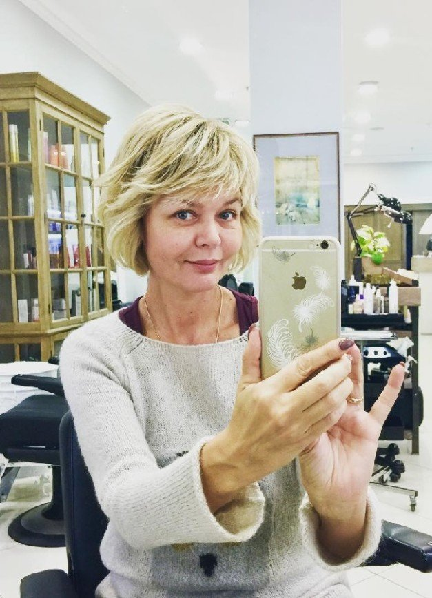 Юлии Меньшовой советуют не сниматься без макияжа