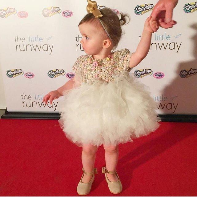 Двухлетняя модница примет участие в Неделе моды в Нью-Йорке