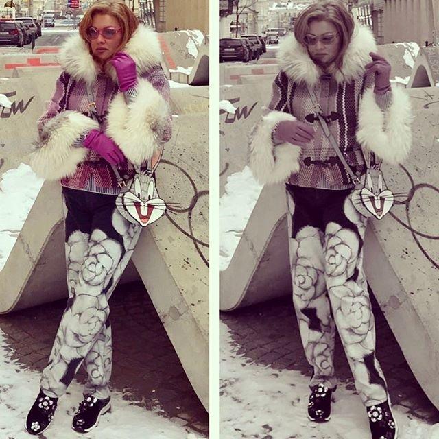 Гардероб Анны Нетребко похож на маскарадные костюмы