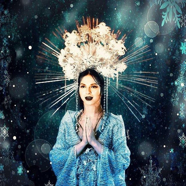 Нюша показала, как выглядит Богиня любви