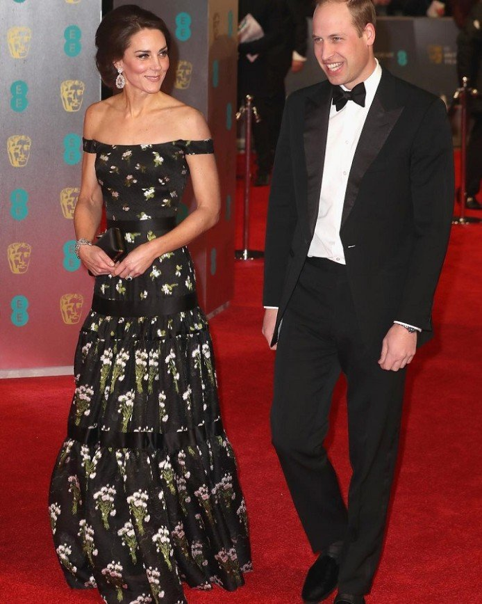 Кейт Миддлтон все-таки затмила звезд на церемонии BAFTA: