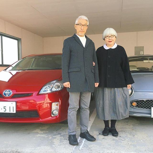 Японские супруги 37 лет носят сочетающуюся одежду