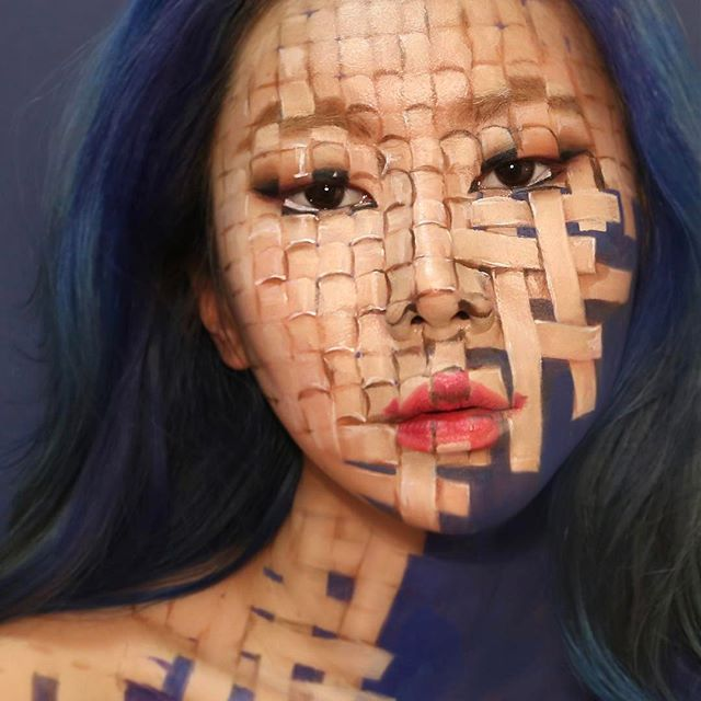 Шедевры визажиста из Кореи обеспечат приступ головокружения