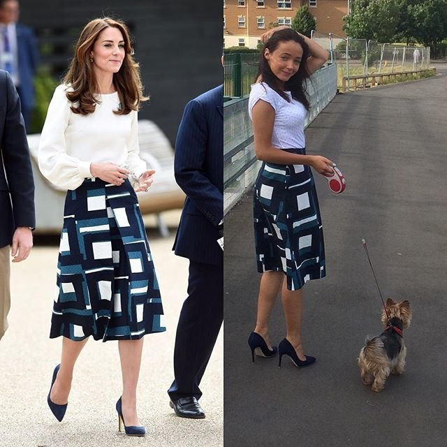 Как бюджетно стать герцогиней Кейт