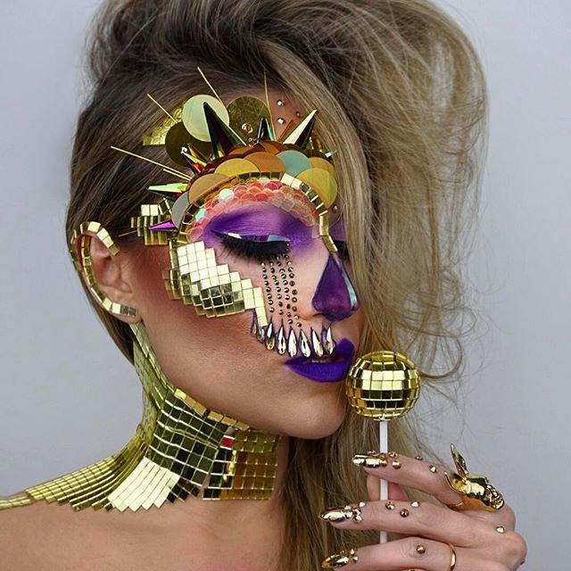 Гламурные черепа - новый модный тренд