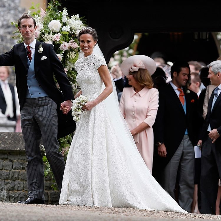 Младшая сестра герцогини Кейт вышла замуж