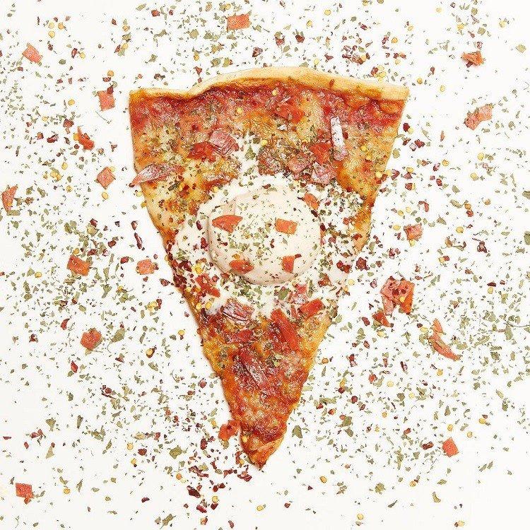 Убойное сочетание - пицца с мороженым