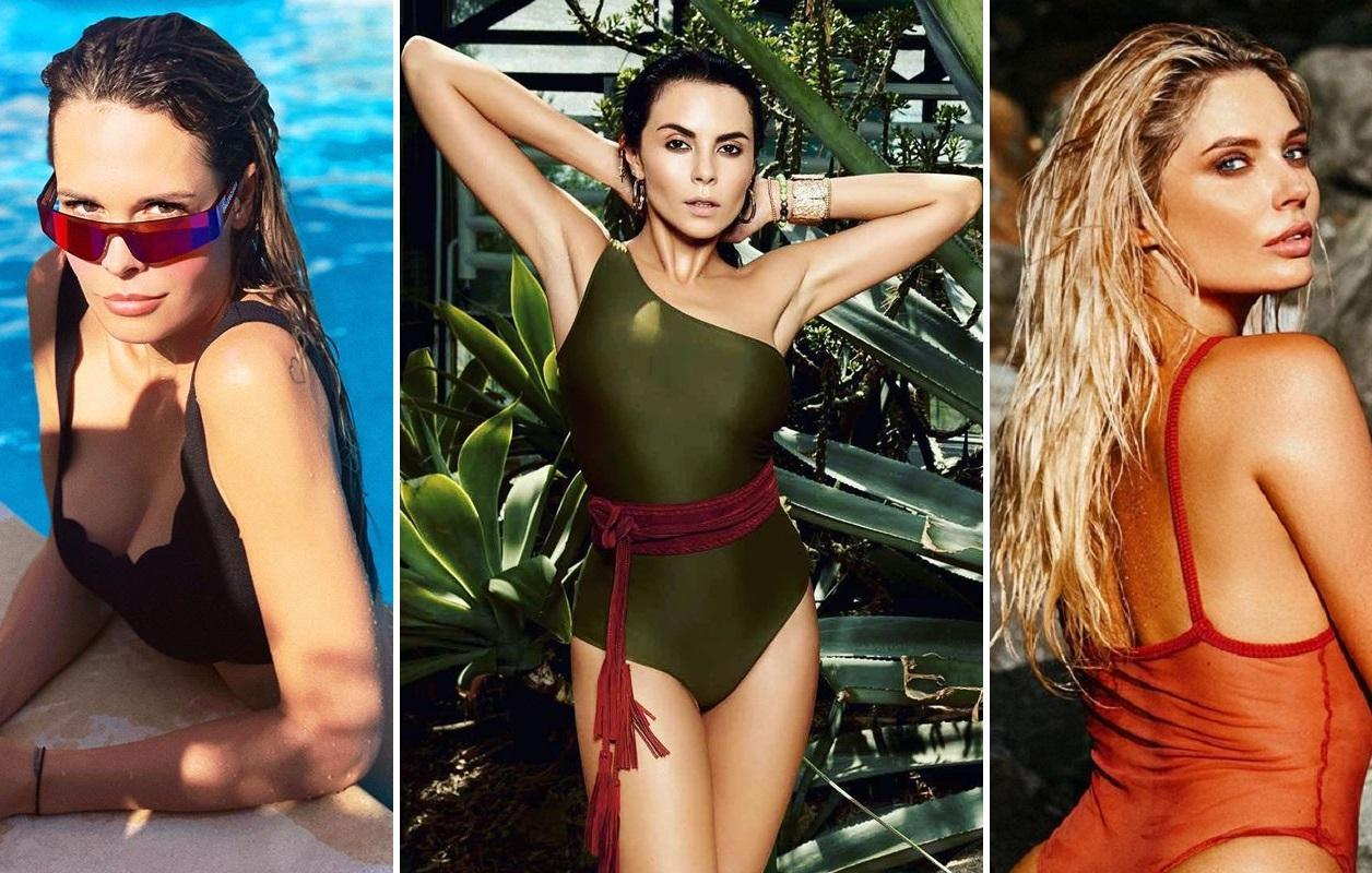 В чем загорают знаменитости: ТОП-7 самых классных купальников этого лета
