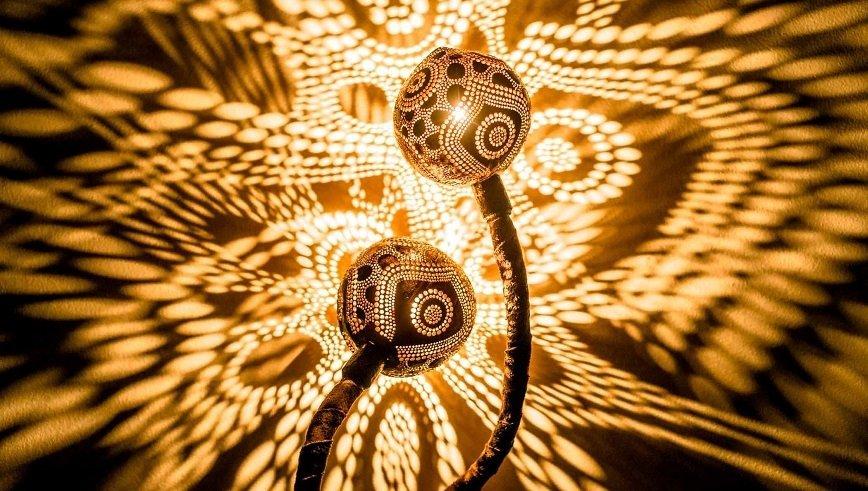Кокосовые лампы Вайнюса Кубилюса